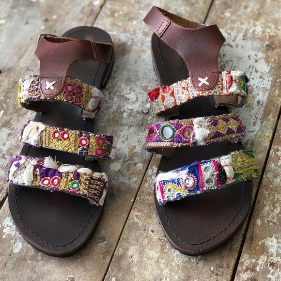 747e8b2fc Free People Shoes - Free People Bohemian Sandals Made in India